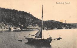 BUNDEFJORD-NESSET NORWAY NORGE~1911 PANORAMA PETER ALSTRUPS POSTCARD 51046 - Norway