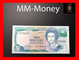 BERMUDA  2 $  1.8.1989   P. 34   UNC - Bermudas