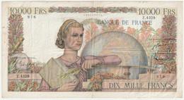 Billet De 10000 Francs - Génie Français - 5-2-1953 - N°  Z.4329 - 10 000 F 1945-1956 ''Génie Français''