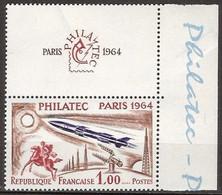 France - YT 1422 (1964) Exposition Philatélique Internationale PHILATEC à Paris (Ouverture) Neuf ** - Nuevos