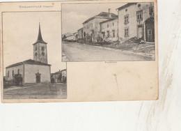 88 - CPA De HAILLAINVILLE - Faubourg Et Eglise  - 025 - Ohne Zuordnung