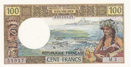 Billet De  100 Francs M 2  Institut D'émission D'outre  Mer  Noumea  - Neuf - - Nouméa (New Caledonia 1873-1985)