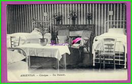 CPA - 61 Orne - ARGENTAN - La Clinique - Un Des Dortoir - 2 Lits - Argentan