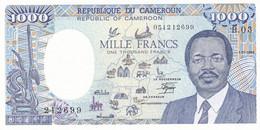 Billet 1000 Francs  Republique  Du Cameroun  1966 - B 03 - Neuf - Cameroon