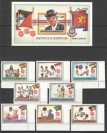QQ810 ANTIGUA & BARBUDA SALVATION ARMY WORLD #1097-1104 MICHEL 19 EU BL+SET MNH - Contro La Fame