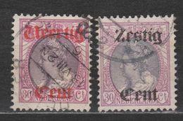 NVPH Nederland Netherlands Pays Bas Holanda 102-103 Used Koningin Queen Reine Wilhelmina 1919 ALL DUTCH STAMPS PER PIECE - Usati