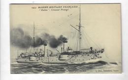 """CTH-CPA Marine Militaire Française """"Forbin"""" Croiseur Protégé  Edit L Olive Toulon 2473 - Guerra"""