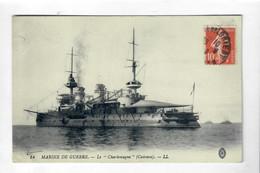 "CPA Marine De Guerre - Le ""Charlemagne"" Cuirassé - LL14 - Guerra"