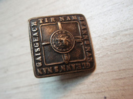 Bouton Gaisgeach Tir Nam Beanns Nan Gleann's Nam - Buttons