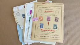 LOT N° E 153 BELGIQUE   Un Bon Lot De Lettres ,blocs 1er Jours Carnets Et Divers - Collezioni (in Album)