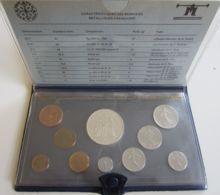 28261g  MONNAIE DE PARIS - SERIE FLEURS DE COINS 1980 - Boite D'origine - Z. FDC