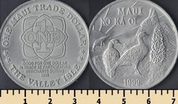 Hawaii - Maui 1 Trade Dollar 1999 - Unclassified