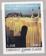Adhésif 338 Pont -Neuf   Neuf Sur Support D'origine Cote 33 € - Luchtpost