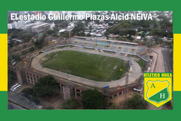 CP.STADE .  NEIVAS  COLOMBIE  ESTADIO GUILLERMO  PLAZAS ALLCID   # CS. 653 - Calcio