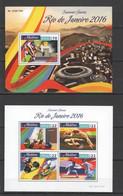ML069 2016 MALDIVES SPORTS OLYMPIC GAMES RIO DE JANEIRO 1KB+1BL MNH - Verano 2016: Rio De Janeiro