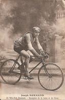 ROANNE (42) Joseph NORMAND Du Vélo-Club Roannais - Champion De La Loire Et Du Forez - Roanne