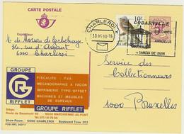 """PUBLIBEL 2637 F """" Groupe RIFFLET Marchienne-au-pont """" - Publibels"""