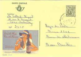 """PUBLIBEL 2757 F """" Vins De Pays Vins De France CHANTOVENT  Coteaux Du Pont Du Gard """" De MALMEDY - Publibels"""