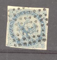 0co  042  -  Colonies Générales  :  Yv  4   (o)  Obl. Losange 8x8 - Águila Imperial