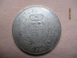San Marino: 5 Lire 1898 (rare) - San Marino