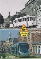 Ancien Et Nouveau Tramways, à Valenciennes (59)  - - Valenciennes