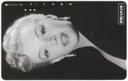JAPAN P-460 Magnetic NTT [110-99882] - Actress, Marilyn Monroe - Used - Japón