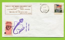 USA, 1969,   Space, Espace,  Apollo-9, - United States