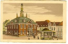 """CP De GELDERN """" Rathaus Mit Musikpavillon """" Cachet POSTES Militaires Belgique 5 - Geldern"""