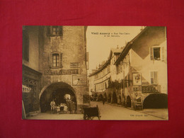Carte Postale Vieil ANNECY. Rue Ste-Claire Et Les Arcades. - Annecy