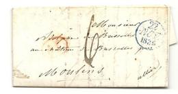 BARON DE BRESSOLES En Son Chateau Près Moulins (Allier). 1839 - 1801-1848: Precursors XIX
