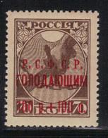 Russie - URSS 1922 Yvert 157b Neuf** MNH (AD104) - Unused Stamps