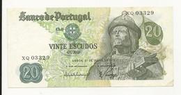 Portugal 20 Escudos 1971 Almost UNC - Portugal
