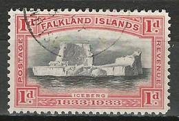 Falkland SG 128, Mi 60 O Used - Falklandinseln