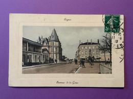 03   COGNAC  Avenue De La Gare   Joli Plan   Bon état - Cognac
