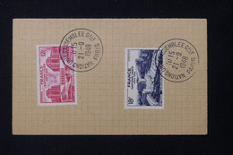 FRANCE - Oblitération  De L 'Assemblée Générale Des Nations Unies  En 1948 Avec Les Timbres - L 84039 - ....-1949