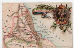 COLONIA ERITREA - VIAGGIATA - Weltkrieg 1914-18