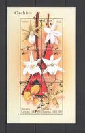 F1015 SIERRA LEONE FLOWERS ORCHIDS FLORA 1KB MNH - Orchids