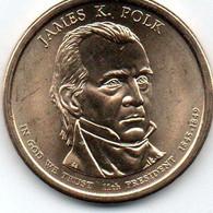1 Dollars James K. Polk   11éme Président 1845.1849 - Central America
