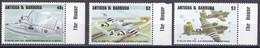Mdf_ Antigua + Barbuda - Mi.Nr. 2027 - 2029 - Postfrisch MNH - Flugzeuge Airplane - Airplanes