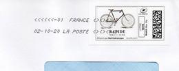 Bicyclette RAPIDE N°1 LE FIXIE Dans Montimbrenligne Sur Pli SUPERBE - Ciclismo