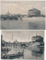 2c.909.  ROMA - Lotto Di 8 Cartoline - Ediz. Brunner - Panoramic Views