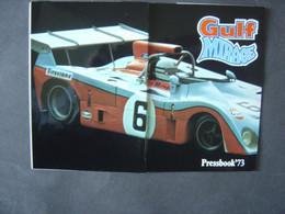 Pressbook 1973 - GULF MIRAGE M6 - Autorennen - F1