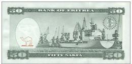ERITREA P.  5 50 N 1997 UNC - Eritrea