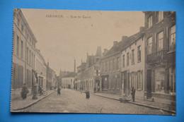 Iseghem 1919: Rue De Gand Très Animée - Izegem
