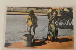 Carte Postale : VIET NAM : SAIGON : Marchand De Crême De Soja, En 1955 - Vietnam