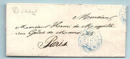 COMTE Du Bois De Maquillé. LAC écrite Par Paul D'ANDIGNE (homme Politique) Cf: Angers / Maine & Loire - 1801-1848: Precursori XIX
