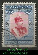 1929 - Mi. Nr. 590 - Irán