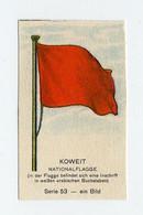 Fahnen / Flags 1929 - 53 - Koweit, Kuwait  - 1 Chromo - Unclassified