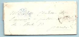 DE LAGARENNE. LAC De Paris Pour Paris. 2 Lettres - 1801-1848: Precursori XIX