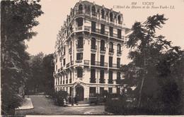 CPA 03  ALLIER -  VICHY -  L' Hôtel Du  Havre Et De  New-York . - LL - Vichy